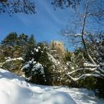 Burg Baden Winterimpression Bild: © K. Schmeißer